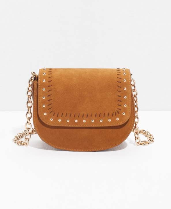 & Other Stories Suede Cross Body Bag €75