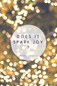 "Does Your Wardrobe ""Spark Joy""?"