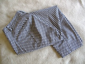Printed cotton trousers from Gap