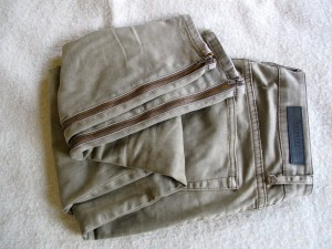 Khaki jeans by Selected Femme