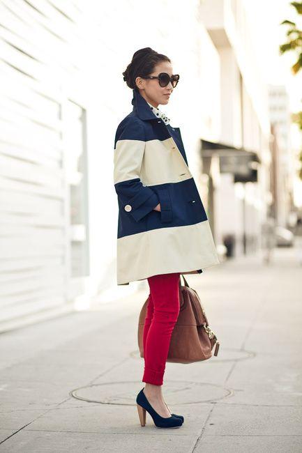 Spring layering: coat